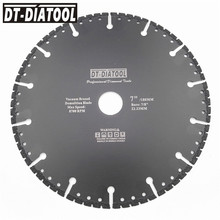 цена на 1pc Professional one for all purpose Diamond multi Purpose Cutting wheel for steel stone reinforced concrete Saw blade Dia 180mm