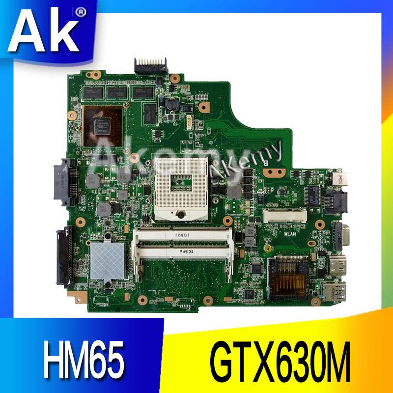 AK K43SM laptop Motherboard For ASUS X43S A43S K43S A83S A84S K43SJ K43SV Mainboard 100 OK