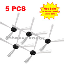 5 pcs of side brush for robot vacuum cleaner A320 and Seebest C565, original Replacement Parts for automatic vacuum cleaner