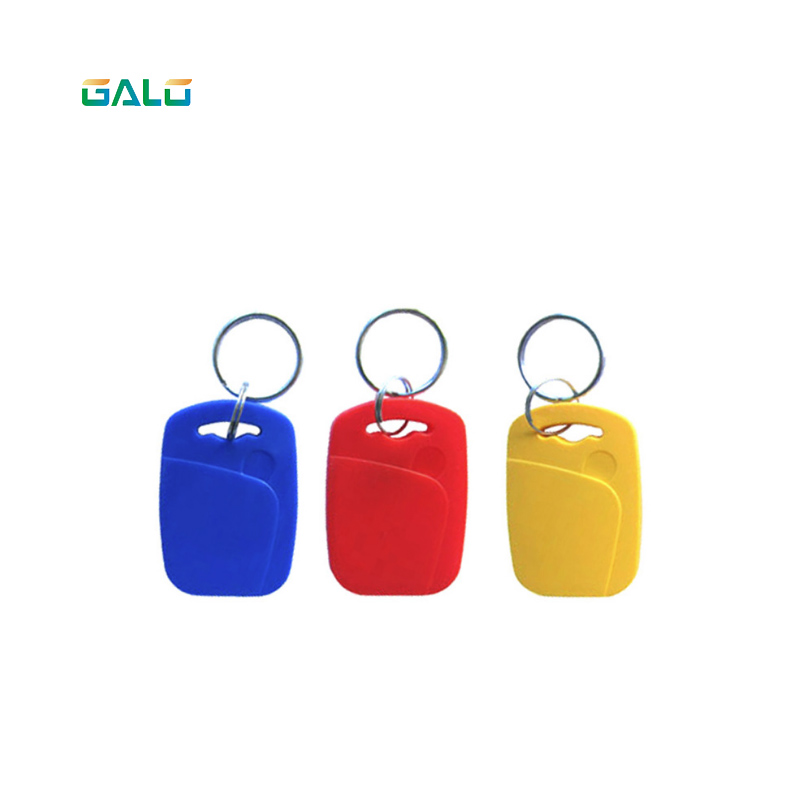 100pcs Key Tags Keyfob Dual Chip Frequency RFID 125KHZ only read in Access Control Cards from Security Protection