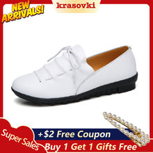 Krasovki Single Shoes Women Spring Autumn Flat Bottom Lace Causal Dropshipping Soft Anti Skid Fashion