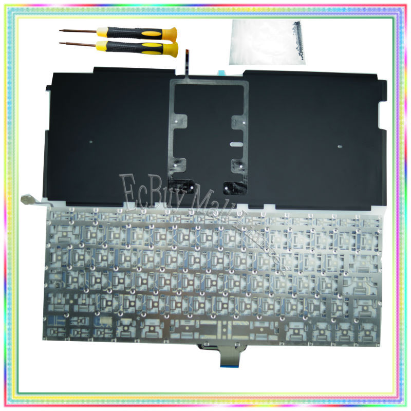 Nuevo teclado ruso con retroiluminación y destornilladores y - Accesorios para laptop - foto 2