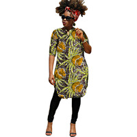 African print dress African wax outfits for lady's party/wedding women outfits fashion costume dashiki clothes Ankara dresses