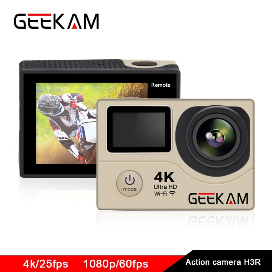 Action Camera 4k Ultra Outdoor Sports Camera Full Hd 1080p 60FPS Waterproof Wifi Dv Go Pro