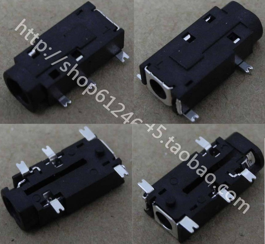 NEW Free Shipping for Netbook Tablet PC phone Headphone Jack 5-pin 3.5mm Audio Interface Connector Plug Interface
