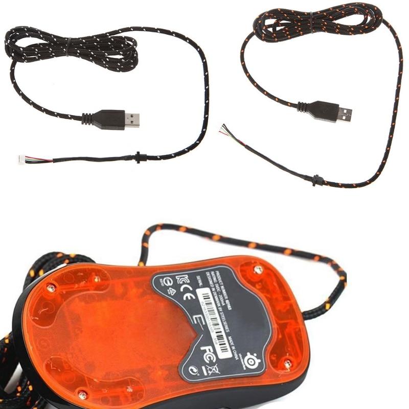 1pc New Mouse Cable Mouse Wire For SteelSeries RAW KINZU Sensei XAI Kana