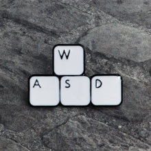 WASD Keyboard Pin Video game Brooch Super Controller Play Enamel Pin Lapel pin badges Hat Bag Clothes Computer Jewelry Gifts(China)
