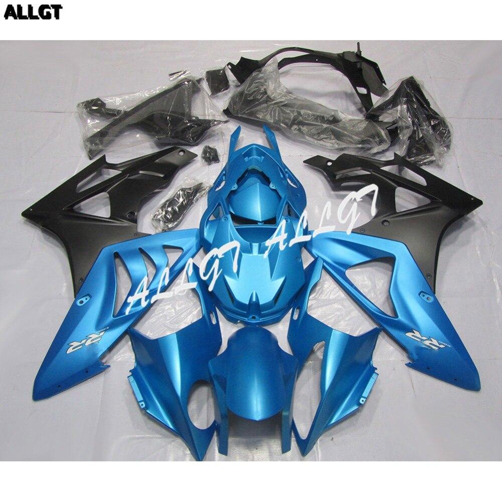 Blue ABS Injection Fairing Kit BodyWork for BMW S1000RR 2010 2011 2012 2013
