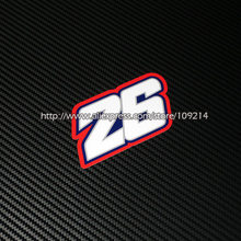 Gran oferta Dani Pedrosa 26 casco de la motocicleta pegatinas pegatina impermeable 17