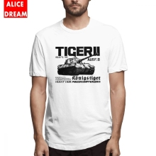 Male Tiger II Tee Shirt Tank Cartoon T-Shirt Organic Cotton AliceDream T shirt Casual Top design 3D Print Hot sale