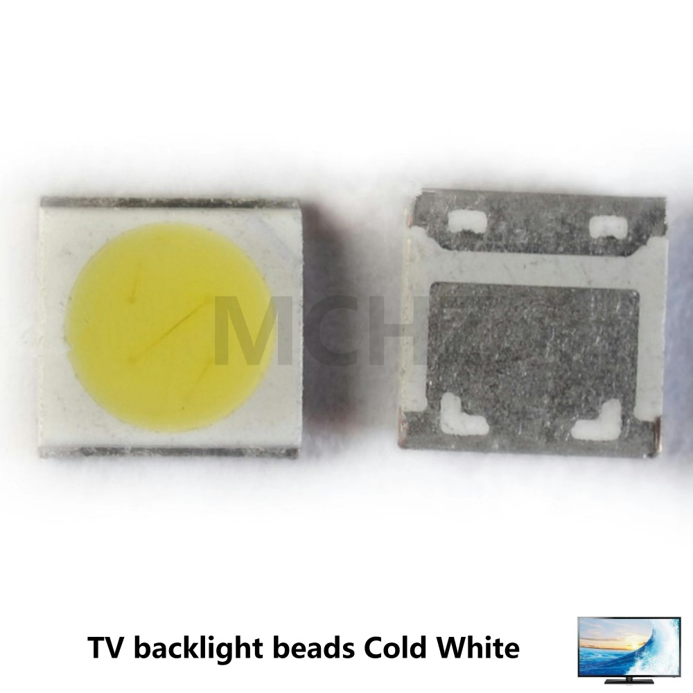50pcs For Wooree Replace Uni Lg Lg Seoul Led Backlight Lcd Tv Bead 6v 6.8v 2 W 3535 Led Smd Lamp Bead 3535 Cold White