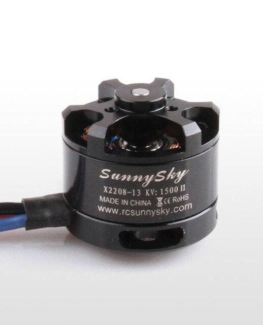 SunnySky X2208 1100kv 1260KV 1500kv 2600kv Brushless Motor Spare Parts Firepower For RC Airplane Helicopter SKT support