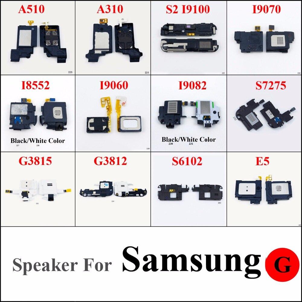 1pcs Wholesale Loud Speaker Ringer Buzzer For Samsung A510 A310 S2 I9100 I9070 I8552 I9060 I9082 S7275 G3815 G3812 S6102 E5