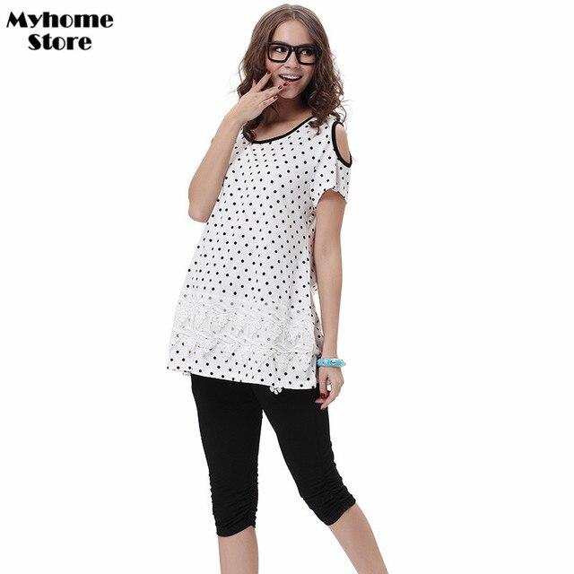 Maternity Clothes Designer | Designer Pregnant Mini Dot Shirt High Quality Summer Maternity T