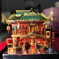 Набор металлических 3D-моделей MMZ  Zui Xiao Tower Architecture  сделай сам  сборка пазлов  лазерная резка  пазлы  строительные игрушки в подарок