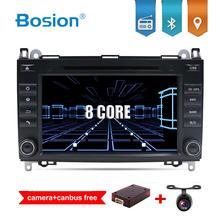 Android 9 pour Mercedes Benz Sprinter B200 W209 W169 classe B W245 B170 Vito W639 2 DIN lecteur DVD de voiture Radio GPS stéréo multimédia