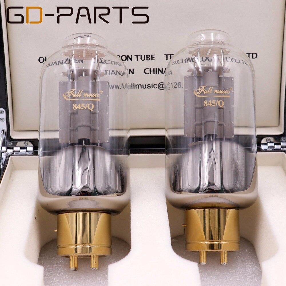 GD-PARTS Matched Pair Premium TJ Fullmusic 845/Q 845Q Vacuum Tube Unique Carbon Plate 845CNE Upgrade Replace 845 845B Tubes