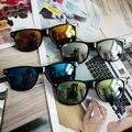 2016 NOVA Moda Óculos De Sol Das Mulheres Dos Homens Designer de Marca Do Vintage Feminino Masculino Óculos de Sol das Mulheres Óculos