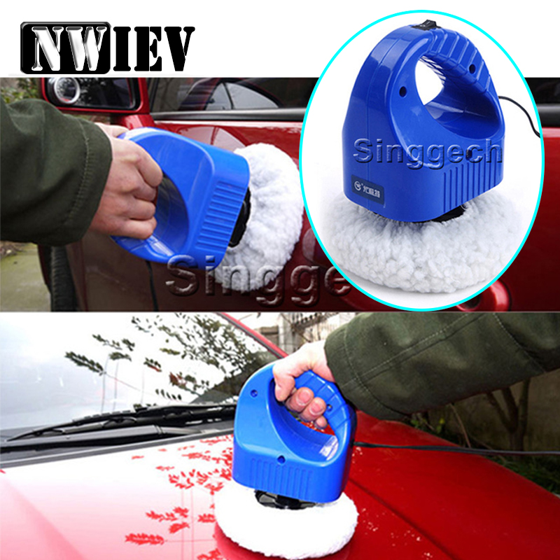NWIEV 1pcs Car Waxing machine paints polishing For Chevrolet Cruze Lacetti Aveo Ford Focus 2 3 Hyundai i30 Skoda A5 Accessories