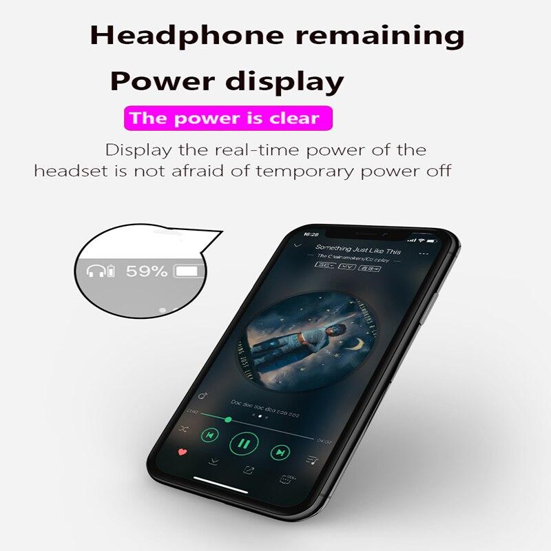 5.0 casque sans fil Bluetooth i7s mise à niveau D stéréo basse sport avec double Microphone pour tous les téléphones mobiles - 3