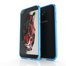 Metal Aluminum Bumper Case For Samsung Galaxy A3 A5 A7 2017 Shockproof Protective Cover S8 Plus A8 2018 A9 Star Phone