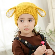 цены на 2018 New Baby Boys and Girls Hat Newborn Baby Cotton Caps Ear Hats For Baby Kids Knitted Beanies Cap  в интернет-магазинах