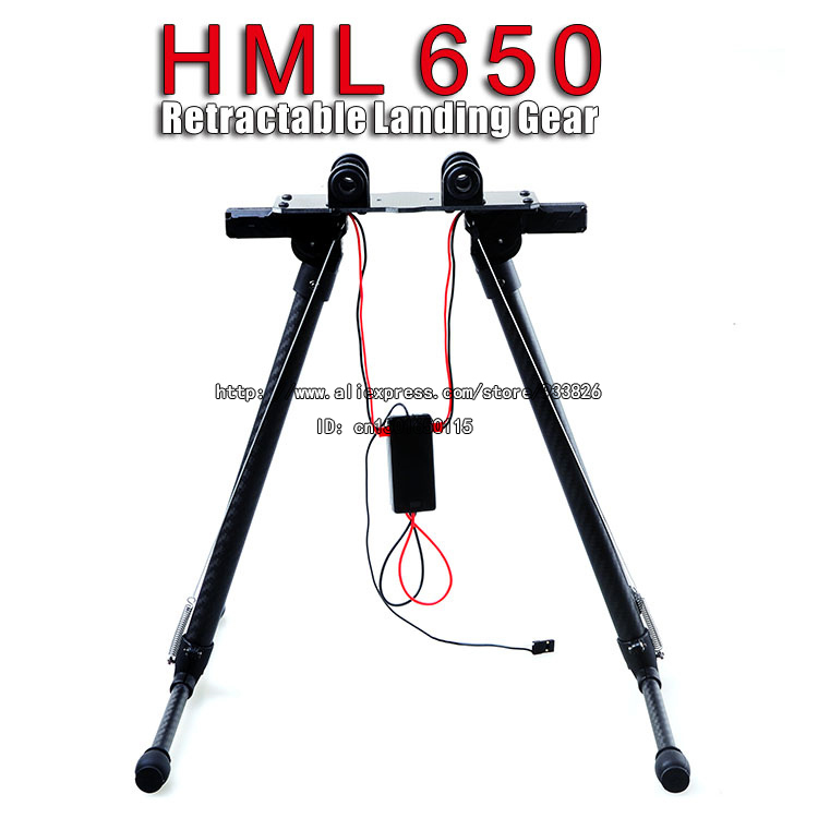 HML650 Electronic Retractable Landing Gear Skid for RC Quadcopter\Hexacopter\Octocopter Photography + Quick Delivery SKU:11399 hml350pro fpv auto retractable landing gear skid controller for phantom 1 2 vision fc40 rc quadcopter diy drone f16326