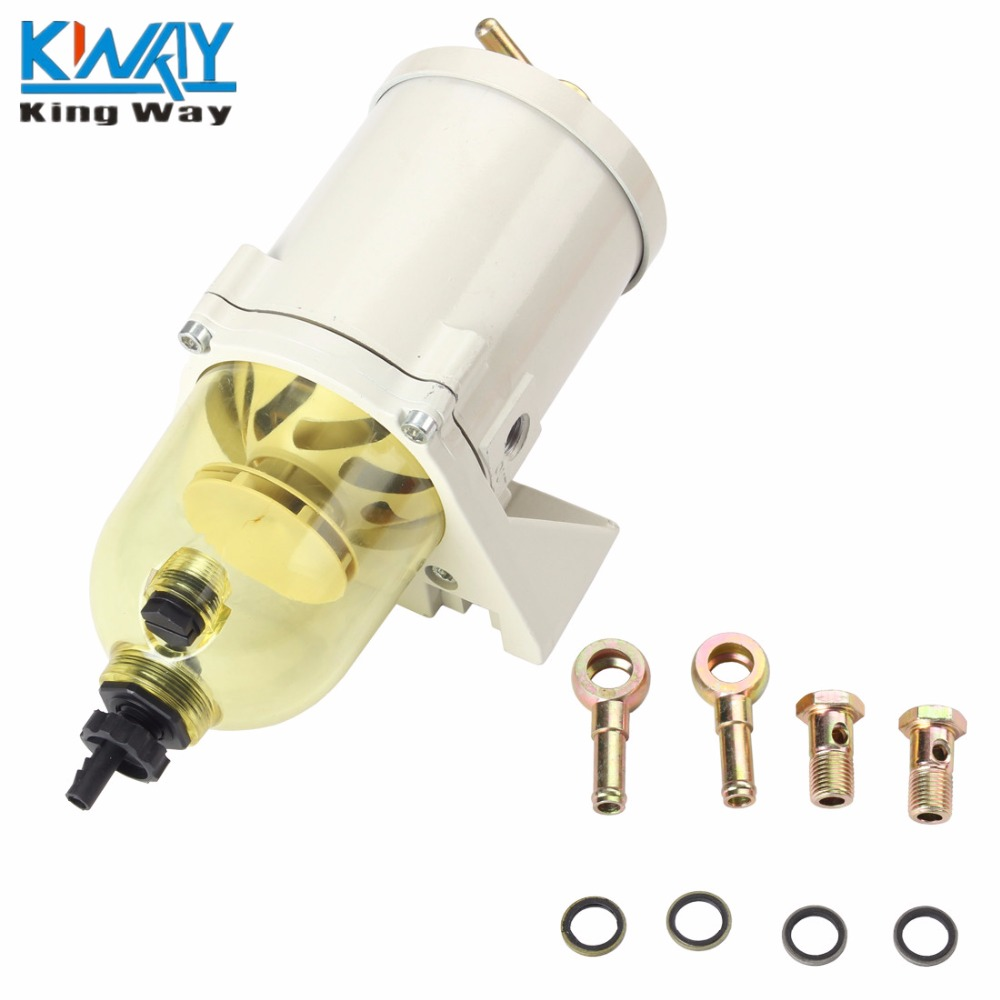 hight resolution of free shipping king way 500fg fh diesel marine boat fuel filter water separator