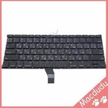 """Neue ru russische tastatur für 13 """"macbook air a1369 a1466 mc503 mc504 2011-2015 horizontale geben * verifizierte lieferant *"""