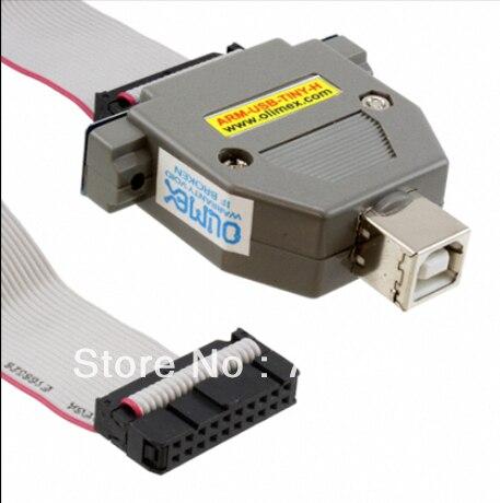Livraison gratuite ARM-USB-TINY-H bras JTAG débogueur