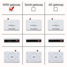 WAN Konzentrator/Hub/Empfänger für Drahtlose Temperatur Feuchtigkeit Beleuchtungs Sensor 433 mhz/868 MHZ/915 MHZ angepasst XZ TAG1
