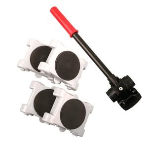 Image 5 - Juego de rodillos móviles deslizadores, fácil elevador, transporte doméstico, extraíble, giratorio, 360 grados, 8 Uds.