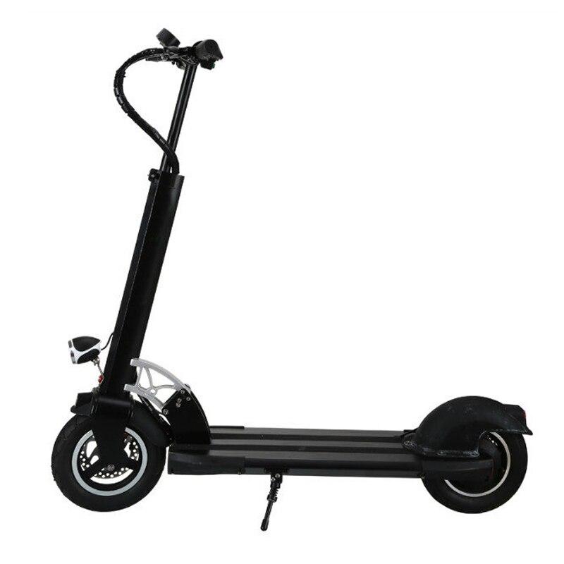 10 pouces électrique scooter fold électrique planche à roulettes 2 roue hover bord avec siège rapide scooter Puissant capacité hover bord
