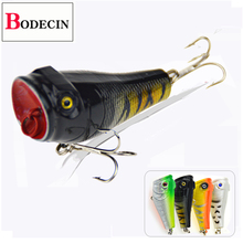 Popper For Fishing Tackle/Lure Sea Wobblers Poper Fish Bass Trout Pike Carp Artificial Fishing Bait Trolling/Surface/Hard Lures fishing wobblers lure for fishing goods for fish lures feeder luminous fishing d30