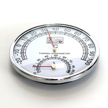 Stainless Steel Thermometer Hygrometer for Sauna Room Temperature Humidity Meter стоимость