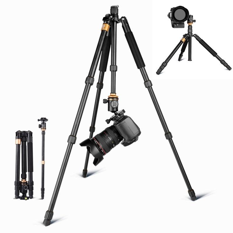 Appareil photo trépied monopode support rotule 360 pour Canon Nikon Sony DSLR Portable en direct vidéo caméscope titulaire pêche regarder cardan