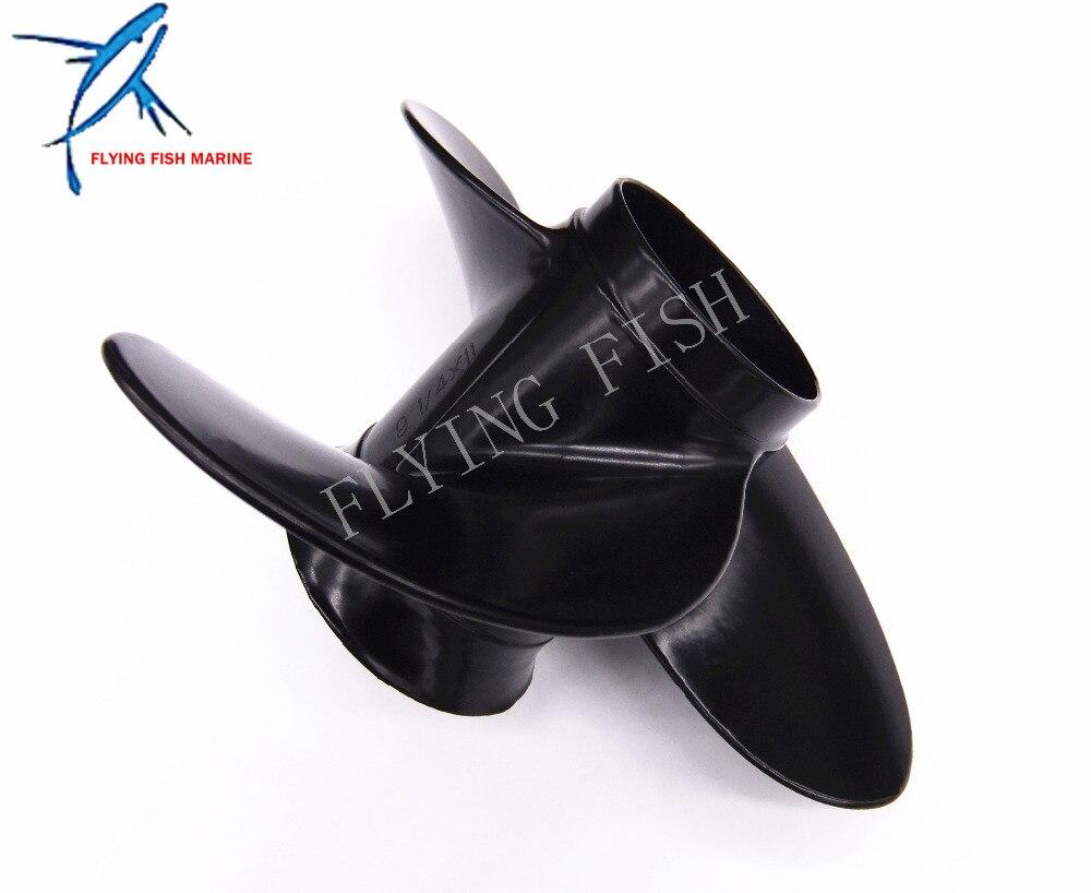 aliexpress : buy boat motor aluminum alloy propeller 9 1/4x11