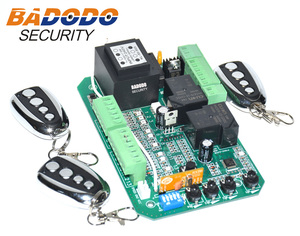 Image 4 - Sliding gate opener AC motor control unit PCB controller circuit board electronic card with pedestrian mode soft start