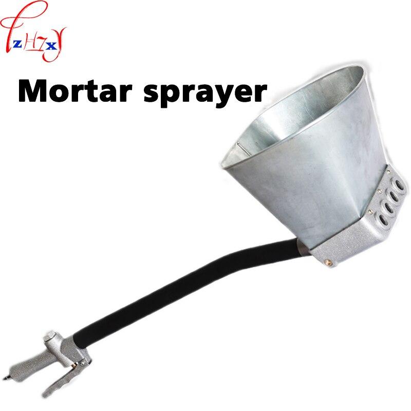 1 pc pistolet de pulvérisation de mortier de ciment portatif pistolet de pulvérisation de mortier de ciment à haut rendement machine de pulvérisation de mur de plafond