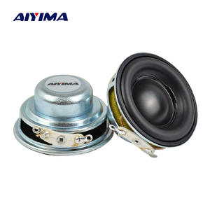 AIYIMA Portable Speakers Mini Audio 40MM Full-Range Ndfeb 5W 1 16-Core 2pcs 4-Ohm Rubber-Side