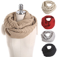 New Style Fashion Winter Scarf Women Scarf Thickened Collar Scarves Girls Neck Scarf Unisex For Women