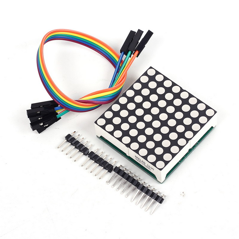 Highlighting Greem LED Display 8x8 8*8 Dot Matrix Module 3.75*3.75mm Max7219 for Arduino