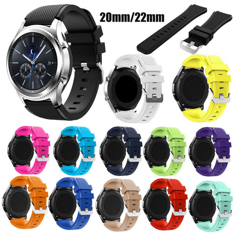 New Silicone Bracelet Strap Watch Band For Samsung Gear S3 Frontier/Classic 22mm сковорода со съемной ручкой nadoba vilma 20 см
