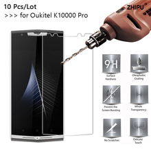 10 Pcs/Lot 2.5D 0.26mm 9H Premium Tempered Glass For Oukitel K10000 Pro Screen Protector protective film