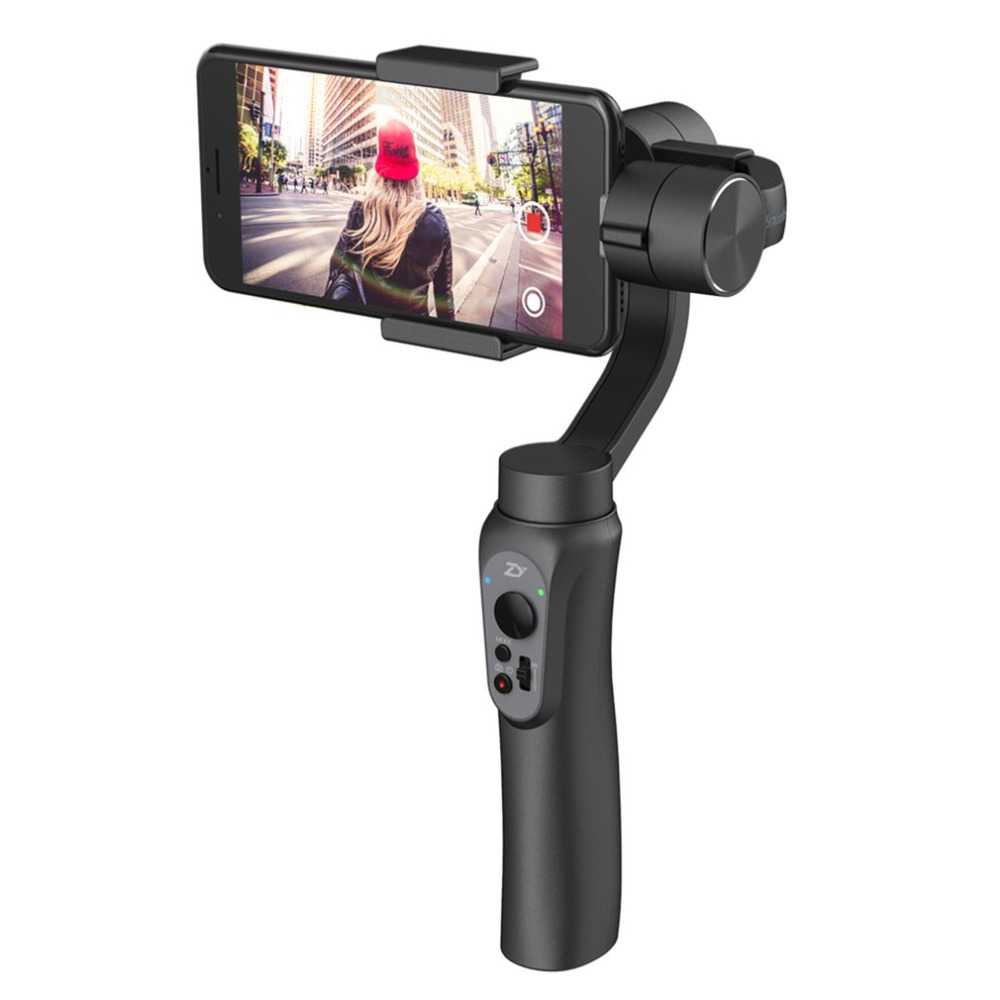 ZHIYUN Smooth Q 3-Axis Gimbal Stabilizer Handheld Gimbals Action Camera Selfie Phone Steadicam For iPhone GoPro3/4/5 xiaoyi недорого