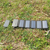 KERNUAP SunPower folding 10W Solar Cells Charger 5V 2.1A USB Output Devices Portable Solar Panels for Smartphones 4