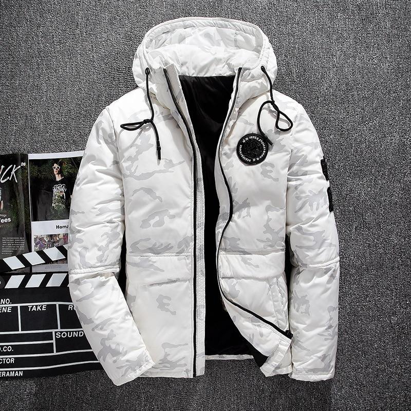 White Parka Coat Mens