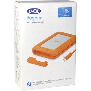 """Image 5 - Seagate LaCie Rugged 1TB 2TB 4TB Thunderbolt e USB 3.0 Portable Hard Drive da 2.5 """"HDD Esterno sport HDD per il Computer Portatile Desktop"""