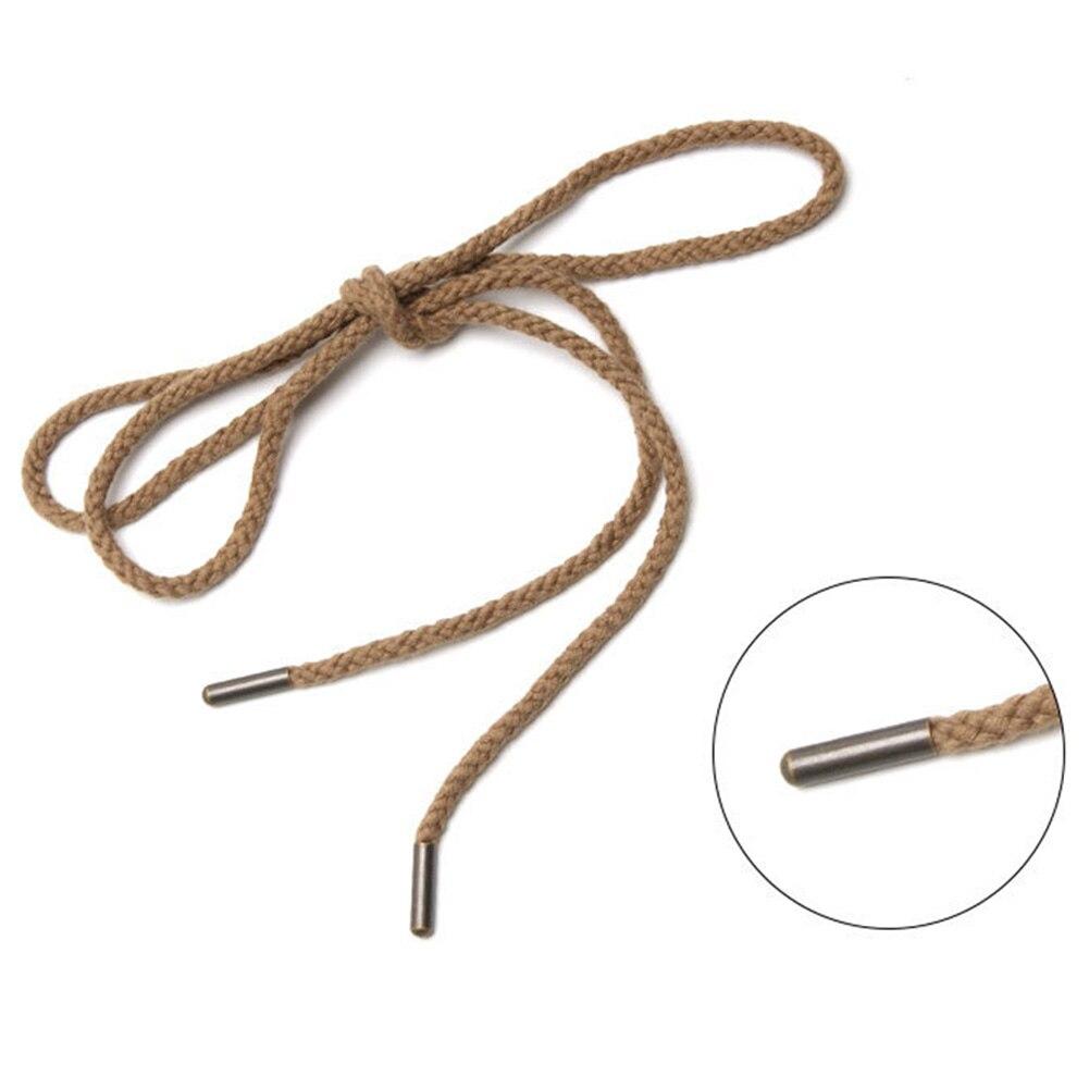 50pcs Color Metal Aglets Shoelaces Repair Shoe Lace Tips Replacement End TOP Hig
