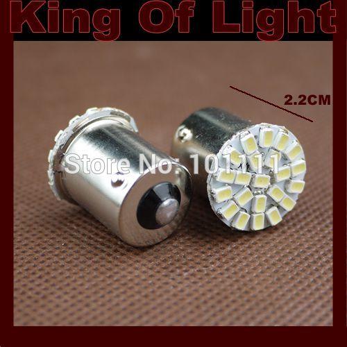30xFree shipping car led s25 ba15s 1156 22 led smd 22smd light bulb lamp